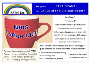 PATH NDIS Coffee Club A5