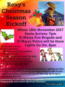 Roxy's Christmas Luke Priddis Foundation St Marys 18 November 2017
